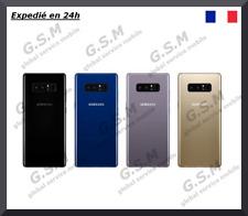 Vitre arrière Samsung Galaxy NOTE 8 Adhésif avec Lentille + LOGO
