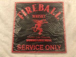 FIREBALL CINNAMON WHISKEY RUBBER BAR SERVICE MAT....NEW!!!!!