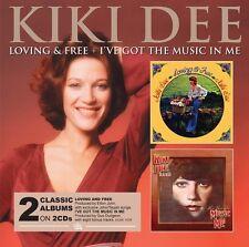 Kiki Dee - Loving & Free / Ive Got the Music in [New CD] UK - Import