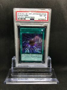 Yugioh Japanese Dark Side of Dimensions: Movie Pack Chaos Form KC PSA 8