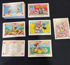 MINNIE N ME SERIES 1 1991 IMPEL IN-COMPLETE BASE CARD SET
