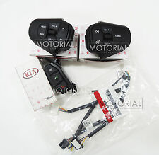 2013 2017 KIA RONDO CARENS OEM Audio Auto Cruise Bluetooth Switch + Wire 4P Set