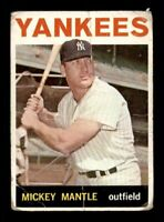 1964 Topps #50 Mickey Mantle F X1197402