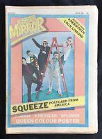 Record Mirror June 28 1980 Squeeze Korgis Van Halen Splodge