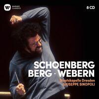 SCHÖNBERG-BERG-WEBERN - SINOPOLI,GIUSEPPE/SC/COLLECTOR'S ED. 8 CD NEUF