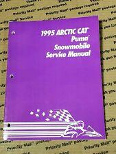 Arctic Cat Snowmobile 1995 Puma Service Manual 2255-126