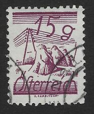 AUSTRIA Stamp 1925 15g  (A)