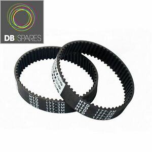 2 x Planer Drive Belts For Black And Decker & KW715 KW713 BD713 177-3M X40515