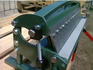 New sheet metal bender 615mm / 1mm, box&pan bender, sheet metal folder, UK selle