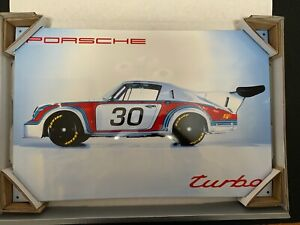 Porsche Classic Enamel Sign Wall Art  Years Ahead In Engineering