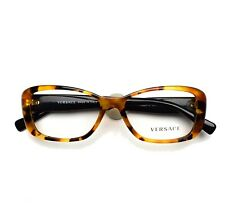 VERSACE Eyeglasses frame 3228A 260 Light Havana 54-16-140 without case