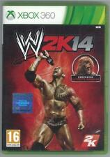 MICROSOFT XBOX 360 WWE 2K14 PAL UK COMPLETO