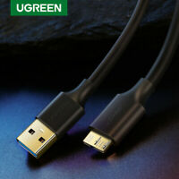 Ugreen Micro USB 3.0 A Male to Micro B Cable Data Lead for Samsung S5 Hard Drive