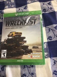 Wreckfest Xbox One New Sealed