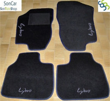 LANCIA LYBRA TAPPETI tappetini AUTO + 4 decori + 4 clip