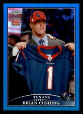 2009 Topps Chrome Blue Refractor #TC130 Brian Cushing Rookie (ref 23552)