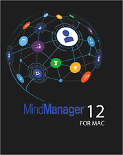 Mindjet Mindmanager 12 For MAC,iMAC,MacBook Pro/Air | Life Time Licence Download