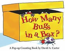 How Many Bugs in a Box?: A Pop-up Counting Book (David Carter's Bugs)