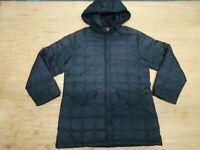 Ciesse Piumini Piumino Donna Trench Taglia L IT 48 Cappotto Nero Inverno Casual