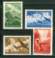 HUNGARY - 1942. AIR - Horthy National Aviation Fund III. MNH!! Mi 687-690.