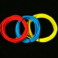 a set of 3 Vintage Style Single Conductor Guitar Wires  6-Foot 26 AWG (R,B Y)