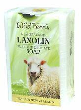 SAUVAGE Ferns Nouvelle-Zélande LANOLINE SAVON 135g - Sans paraben,Minéraux huile