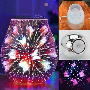 Glass Wax Melt Warmer Electric Oil Burner Melter Fragrance Warmer Home Décor