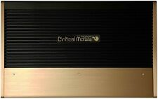 CRITICAL MASS AUDIO CM-AUE1500.4 AUDIOPHILE AMP WATTS RMS JL B W7 BEST AMPLIFIER