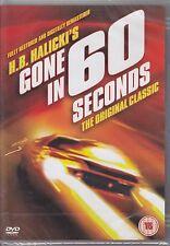 Gone In 60 Seconds - H.B. Halciki's 1974 Original Classic New & Sealed R2 DVD