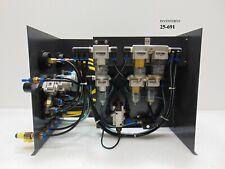 KLA Tencor 6020 Acrotec Pnuematic Regulator Panel *used working, 90-day warranty