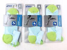 Asics Cooling Single Tab Running Socks Large Mens 9.5-11.5 Womens 10+ Pack of 3