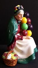 ROYAL DOULTON THE OLD BALLOON SELLER WOMAN VINTAGE FIGURINE NO 1315  RETIRED # B