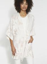 NWT HALSTON HERITAGE Printed Kimono Wrap Jacket $295 Sz. M