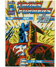 TRANSFORMERS #236; VG, Marvel UK 1989; Comic Comics Deathbringer Wrestle-Mania