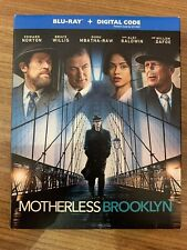 Motherless Brooklyn Blu-Ray w Slipcover Canada Bilingual NO DC LOOK