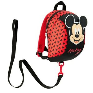 Disney Mickey Mouse Backpack with Reins, Safety Reins for Toddlers Boys Girls