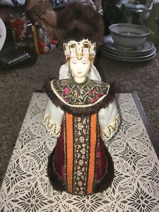 """Vintage RUSSIAN 11"""" Doll"""