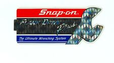 """NEW"" Vintage Snap-on Tools Snap on Cabinet Sticker Emblem Racing Decal SSX1447"