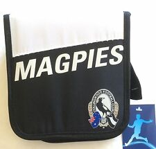 AFL CD / DVD WALLET - ZIP HOLDER COLLINGWOOD MAGPIES CARRY CASE CAR HOME GIFT