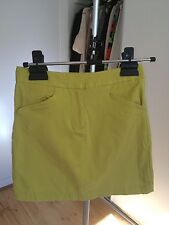 SABA Yellow Mustard Mini Skirt 6 Xs RRP$150