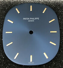 Genuine 18k 750 26.75 X 31.25mm Patek Philippe Ellipse Watch Blue Dial