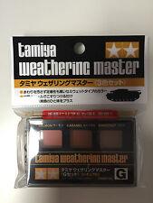 Tamiya 87126 weathering master g (saumon/caramel/marron) nip