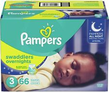 Pampers Swaddlers Overnight Diapers - (Select Size)