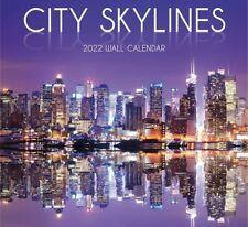 CITY SKYLINES - 2022 WALL CALENDAR - BRAND NEW - 40013