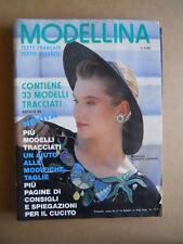 MODELLINA n°74 1988 con cartamodelli 33 tracciati  [C60]