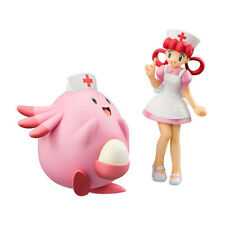 Pokemon Character Nurse Joy & Chansey Figure Pocket Monster Toy Collectible