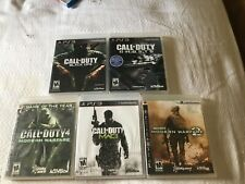 Call of Duty PS3 PlayStation 5 Game Lot Bundle