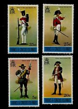 Historic Military Uniforms Turks & Caicos Islands Mint Never Hinged Stamps