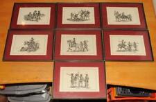 Roald kuutsen collection de 7 Limited Ed Guerre Civile Anglaise soldats estampe signée