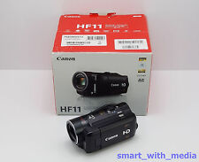 Canon Camcorder HF11 Boxed 32GB Flash Speicher/Card HD Digital High Definition
